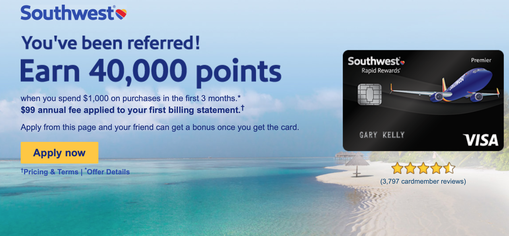 southwest rapid rewards credit card application status